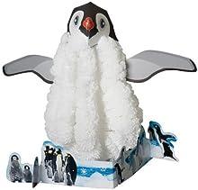 Magia creciente del pingüino