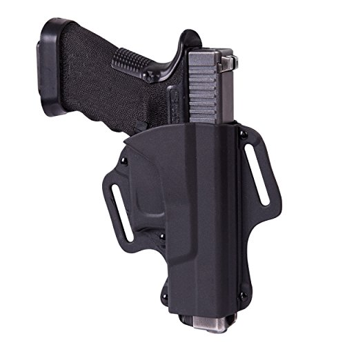 Helikon-Tex OWB Glock 19 - Military Grade Polymer - Schwarz (Pistole Glock Teile)