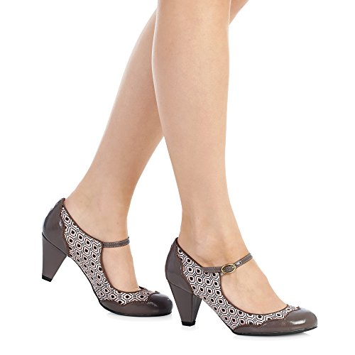Ruby Shoo , Mary Janes pour femme vison