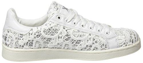 white Xti Weiß Sneaker 046833 Damen qrxr1I