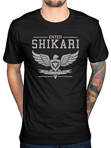 Official Enter Shikari Allegiance T-Shirt Script Mindsweep Lion Ring Crowd Surfing