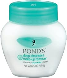 Ponds Cold Cream Cucumber 6.5 Oz.