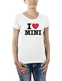 Touchlines Girlie T-Shirt I love Mini