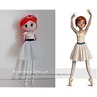 Bambola di pezza - Boninga Dolls: Ballerina Fèlicie (40cm.)