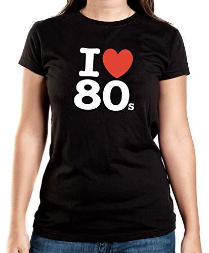 Certified Freak Love 80s T-Shirt Girls Black XXL