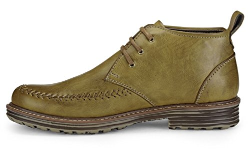 Adreno faux cuir style derby casual chaussures intelligentes hommes - taille disponible Marron