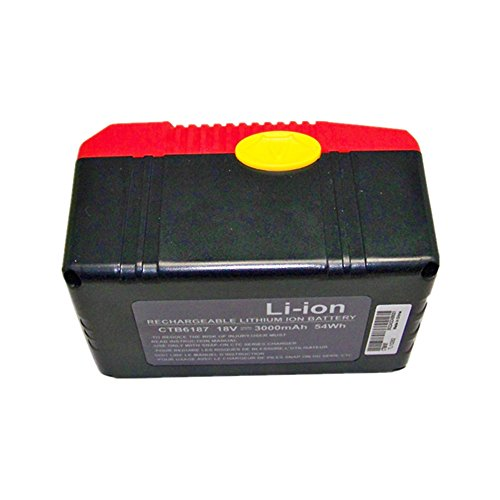 Batteria per Snap On ctb6187ctb6185ctb4185ctb4185Li-Ion LG Cella 18V 3.0AH Nuovo