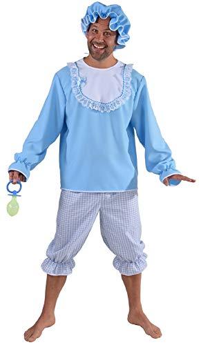 M216255-L hellblau Herren Baby Boy Pyjama Kostüm - Pyjama Boy Kostüm