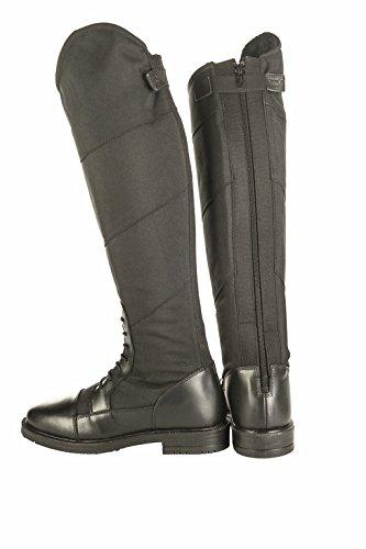 HKM Bottes d'équitation - Style hiver - - Noir