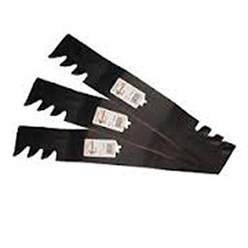Lawnmowers tondeuses pièces et Accessoires Lot de 3 Lames 137,2 cm Extreme Lame de paillage 187255 187254 187256 532187256 R12121