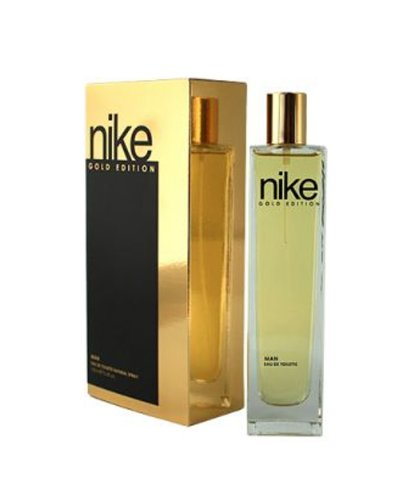 Nike Gold EDT for Men, Gold and Black, 100ml