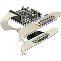 DeLOCK PCI Express card 2 x parallel tarjeta y adaptador de interfaz - Accesorio (PCIe, Alámbrico, Windows 2000/XP, 2003, Vista)