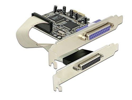DeLock PCI Express Karte (2X Parallel) - Pci-express-x1-karte