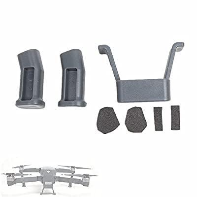 Hensych 1 Set 3 CM Height DJI Mavic Pro Heightened Landing Gear Extended Foot Stand Safe Landing Bracket Protector for DJI Mavic PRO Drone Quadcopter