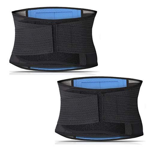 Taille Trainingsgürtel, Fitness-Studio Gewichtsverlust Bauch Körperformung Verstellbare Rückenstütze Gewichtsverlust Körpergürtel,M