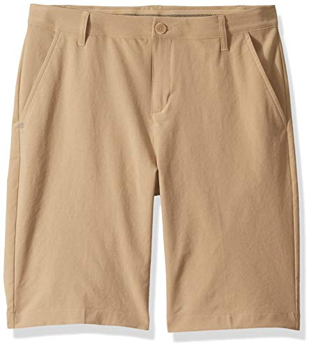 adidas Jungen Solid Golf Shorts Raw Gold, Large