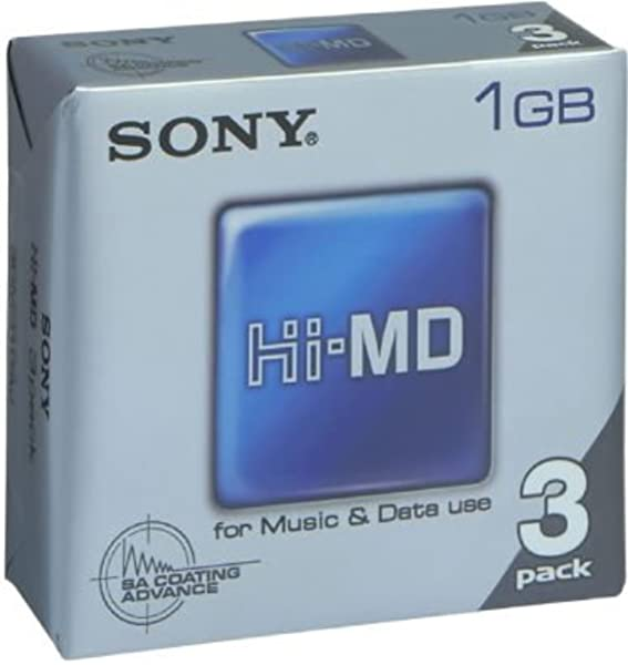 Sony Hi Md 1gb 3er Pack Computer Zubehör