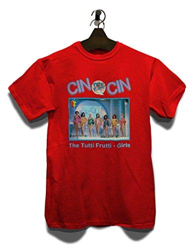 Tutti Frutti Cin Cin T-Shirt Rot