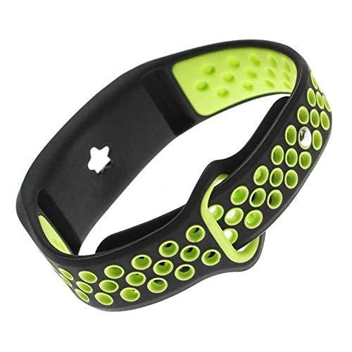 rmin Vivofit 3 Vivofit JR / JR2 Smart-Armband Universal-Komfortable Soft-Silikonersatz Atmungsaktives Sport-Uhrenarmband Verstellbares TPU-Sport-Zubehör-Armband-Dual-Farbe ()