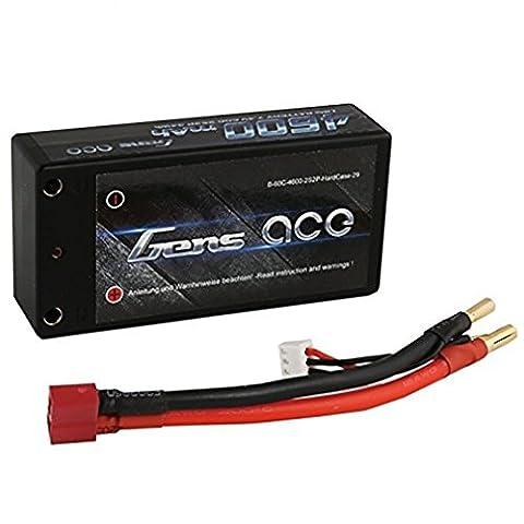 Gens ace LiPo Batterie 4600mAh 7.4V 60C 2S pour Passe-temps RC Toys RC Car RC Hélicoptères RC Avion RC Bateau RC