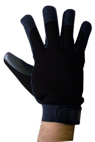 BOSS Tech-Produkte, Inc. Mechaniker-Stil Touchscreen Handschuhe für alle Touchscreen Elektronischer Geräte schwarz -