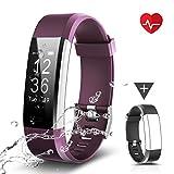CHEREEKI Fitness Armband, Fitness Tracker Uhr mit Pulsmesser, Wasserdicht IP67 Aktivitätstracker Pulsuhren Bluetooth Smart Armbanduhr Schrittzähler mit Schlafmonitor Kalorienzähler Anruf...