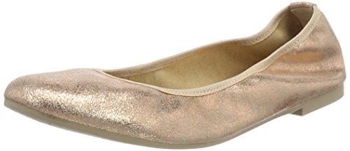 Tamaris Damen 22128 Geschlossene Ballerinas, Pink (Rose Metallic), 39 EU