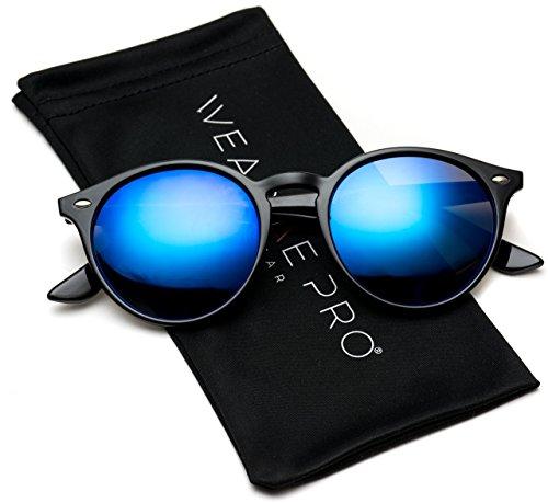 WearMe Pro Klassische runde Retro-Sonnenbrille