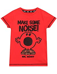 Mr Men Boys Mr noisy T-Shirt Ages 18 Months To 6 Years