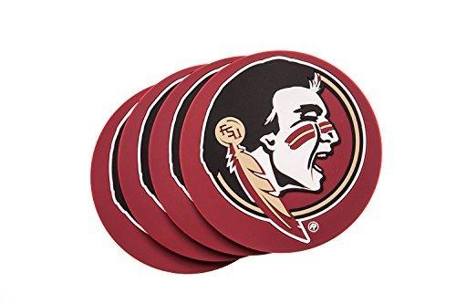 Collegiate Pulse Florida State Seminolen 4er Pack NCAA PVC Untersetzer Fsu Fan-tag