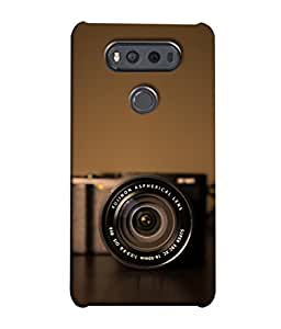 Snapdilla Designer Back Case Cover for LG V20 Dual H990DS :: LG V20 Dual H990N (Film Classic Anti Black Retro Zoom Photo Optical )