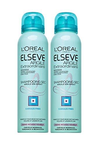 L'Oréal Paris Elsève Shampoing Sec Argile pour...