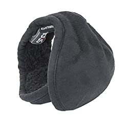 180s Mens Ear Warmers - Tuckerman Black