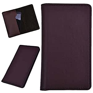 DCR Pu Leather case cover for Lenovo A328 (brown)