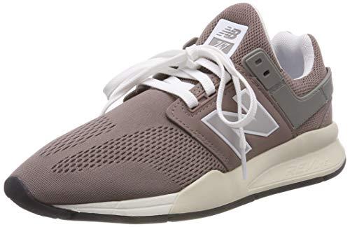 New Balance Damen 247v2 Sneaker, Pink (Latte/Marble Head Ew Blue), 39 EU