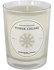 EMMANUEL LEVAIN Bougie d'Ambiance Poker-Cigare