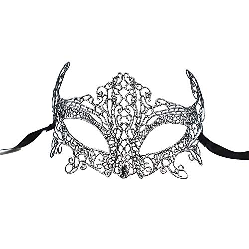 Wansan Womens Lace Masquerade Maske Halloween Karnevalsparty Ball Ball Kostüm Party Supplies (Womens Römischen Halloween-kostüme)
