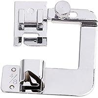 Gazechimp Pie Hemmer Prensatelas Rodillo Dobladillo para Máquinas de Costura Doméstica - 13mm