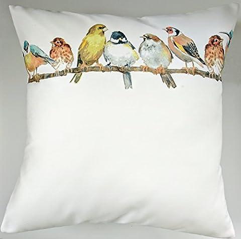 Cushion Cover in Laura Ashley Garden Birds 16