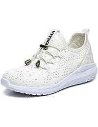 new style 4eee4 c35e1 Garçon Fille Chaussure de Course Chaussures de Outdoor Sneakers Mode Basket  Chaussure de Course Sport Walking Shoes Running…