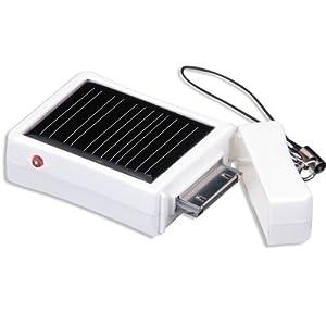 August SPC400 Chargeur de Batterie Solaire avec Porte-clés pour iPhone 2G / 3G / 4