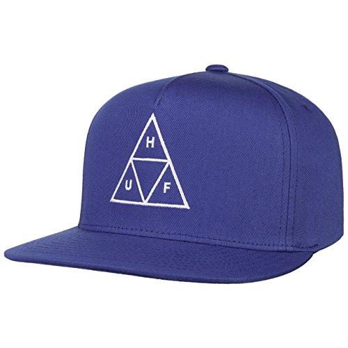 HUF Triple Triangle Snapback Cap - Königsblau - Einstellbar