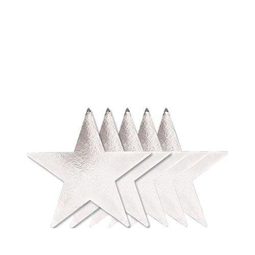 Amscan 199861-1823cm Folie Star Aussparungen
