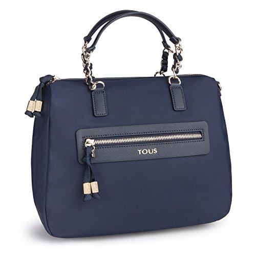 Tous Efim Brunock Chain, Bolso de Mano para Mujer, Azul (Marino 595810119),...