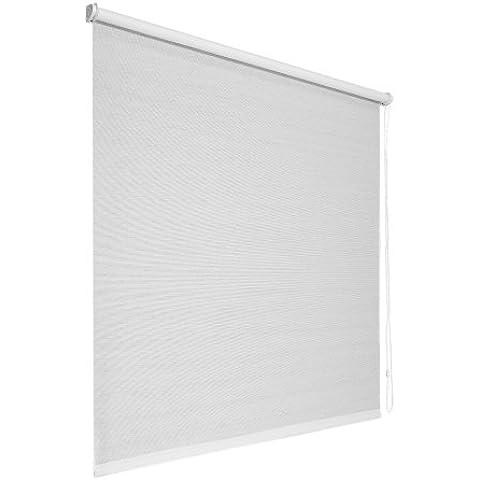 VICTORIA M - Estor Semitransparente (translúcido) / fijación sin perforar Klemmfix / Tamaño: 60 x 148 cm / Color: blanco