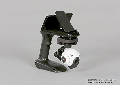 YUNEEC Q500+ Typhoon Multikopter SET inkl. Multikopter (mit CGO2+ Full HD Kamera Gimbal System mit 16 Megapixel- bzw. 1080p/60fps, 3-Achsen Brushless Gimbal), SteadyGrip, 1x Akku und ST10+ Fernsteuerung - 6