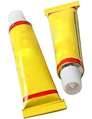 humefor 2pcs bicicleta tubo interno de goma pegamento reparación pinchazos fría parche bicicleta sellador