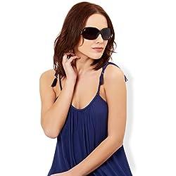 Accessorize Damen Angel gewickelte Sonnenbrille mit Metalldetail - Einheitsgröße