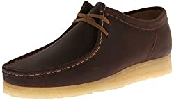 Clarks Mens Wallabee Leather Lace-up Shoe Beeswax 8 D(M) US