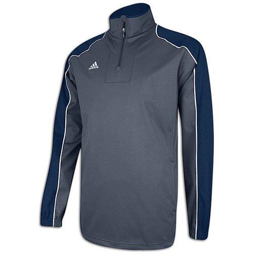 Navy Blue Jacke Hot (adidas Herren Gameday-Hot Lange Ärmel Jacke, Herren, Grey/Navy Blue)